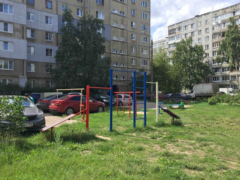 Nizhny Novgorod - Calisthenics Park - Бавария