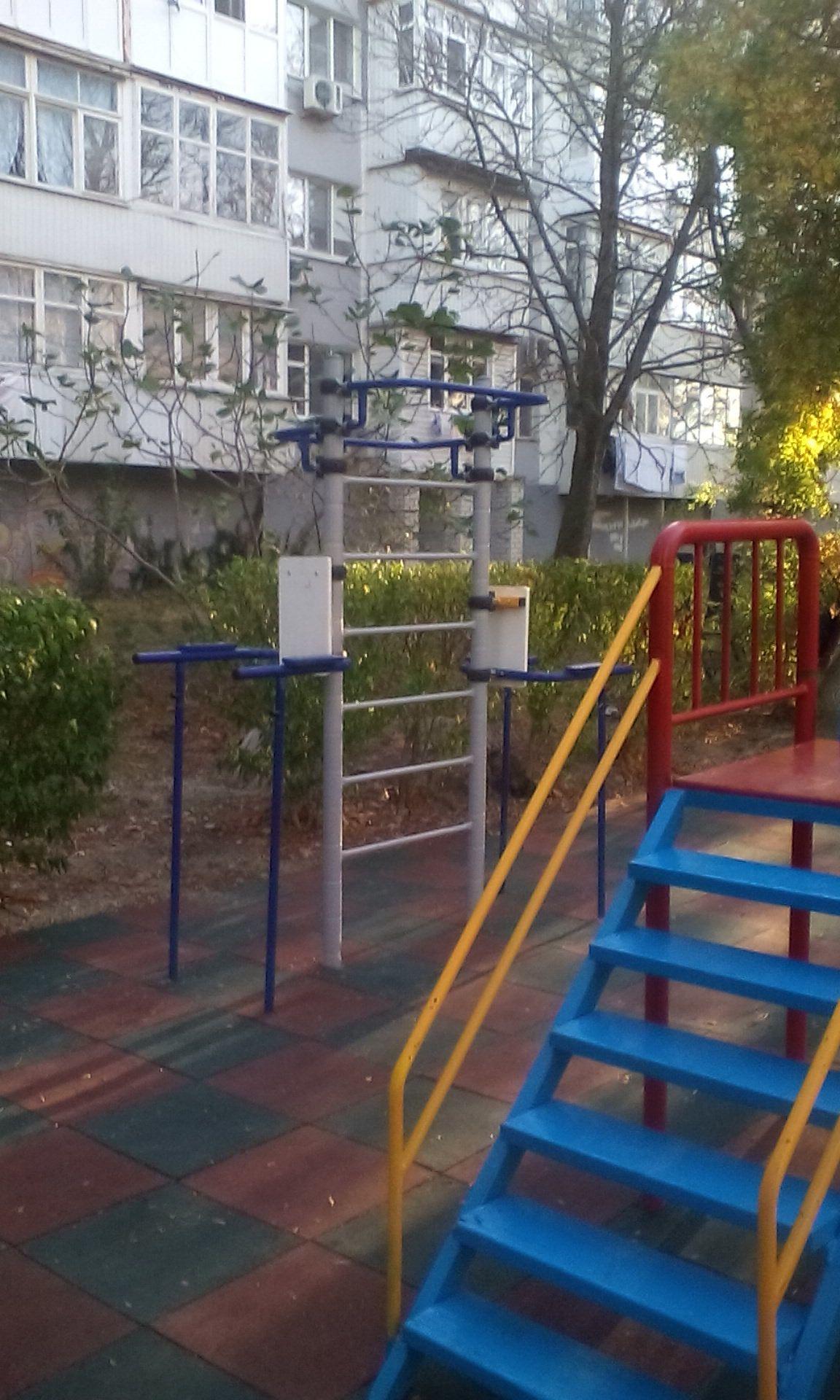 Gelendzhik - Outdoor Gym - Улица Гринченко
