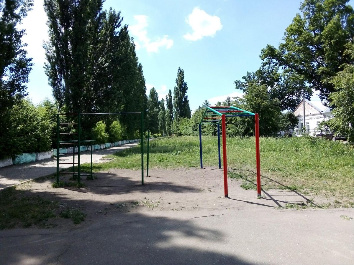 Morshansk - Street Workout Park - Sberbank of Russia