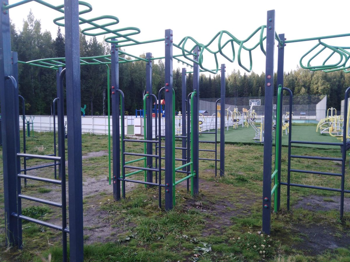 Khanty-Mansiysk - Street Workout Park - Объездная Улица