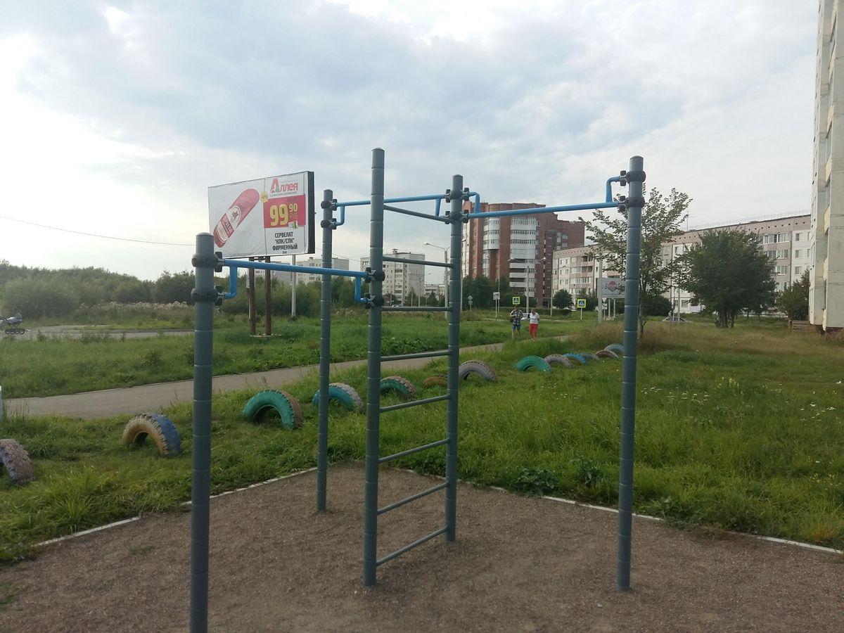 Zelenogorsk - Street Workout Park - Спортмастер