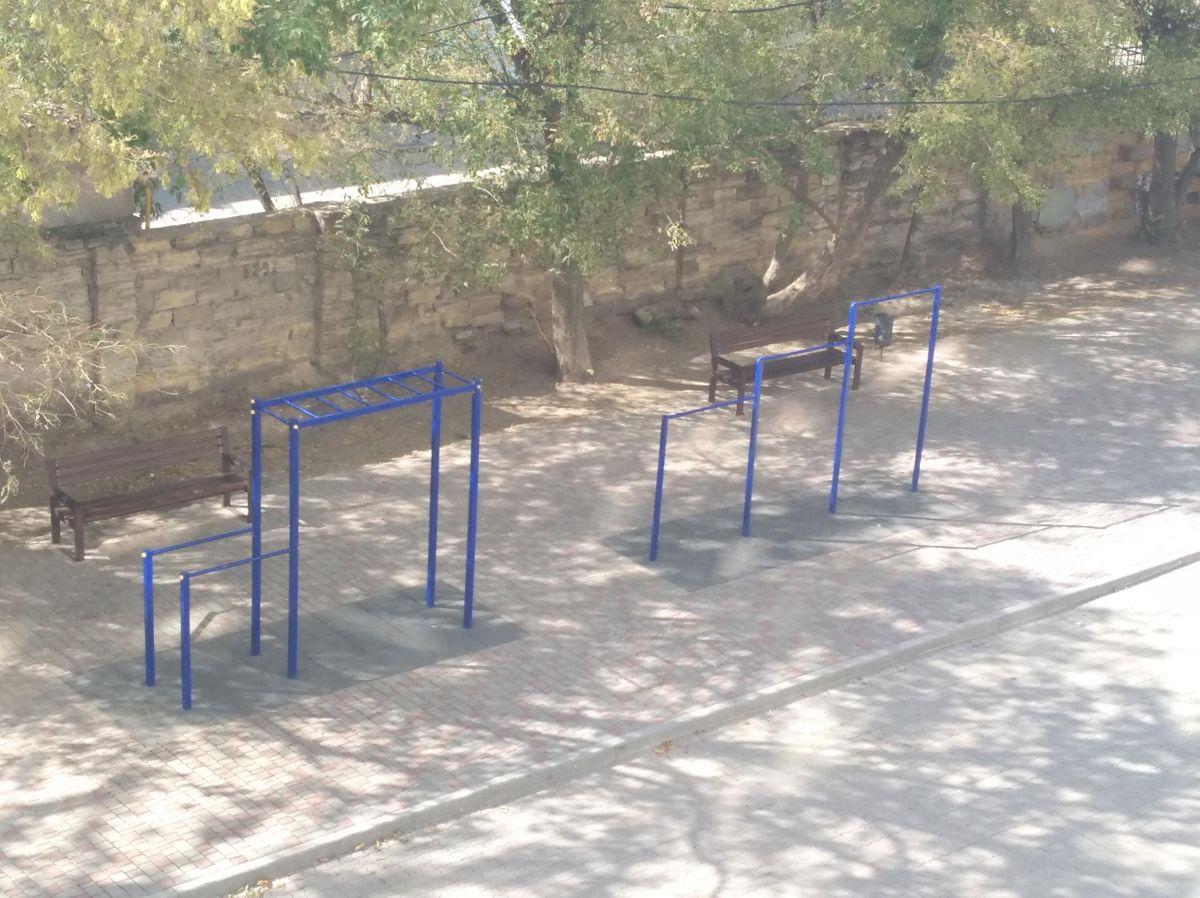 Odessa - Street Workout Park - Хаус-Шота