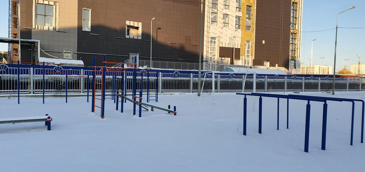 Yakutsk - Aire de Fitness - Original