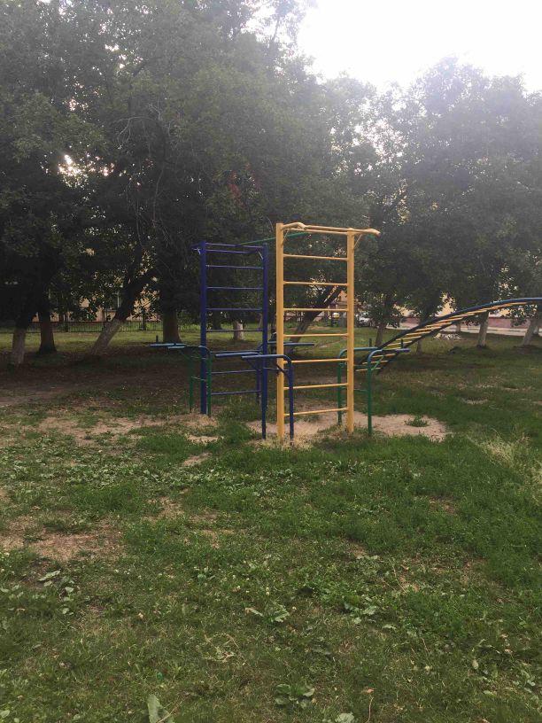 Nizhny Novgorod - Calisthenics Park - Sberbank of Russia