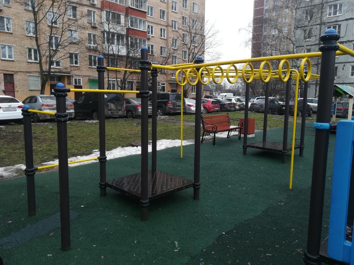 Moscow - Street Workout Park - Ш Дмитровское
