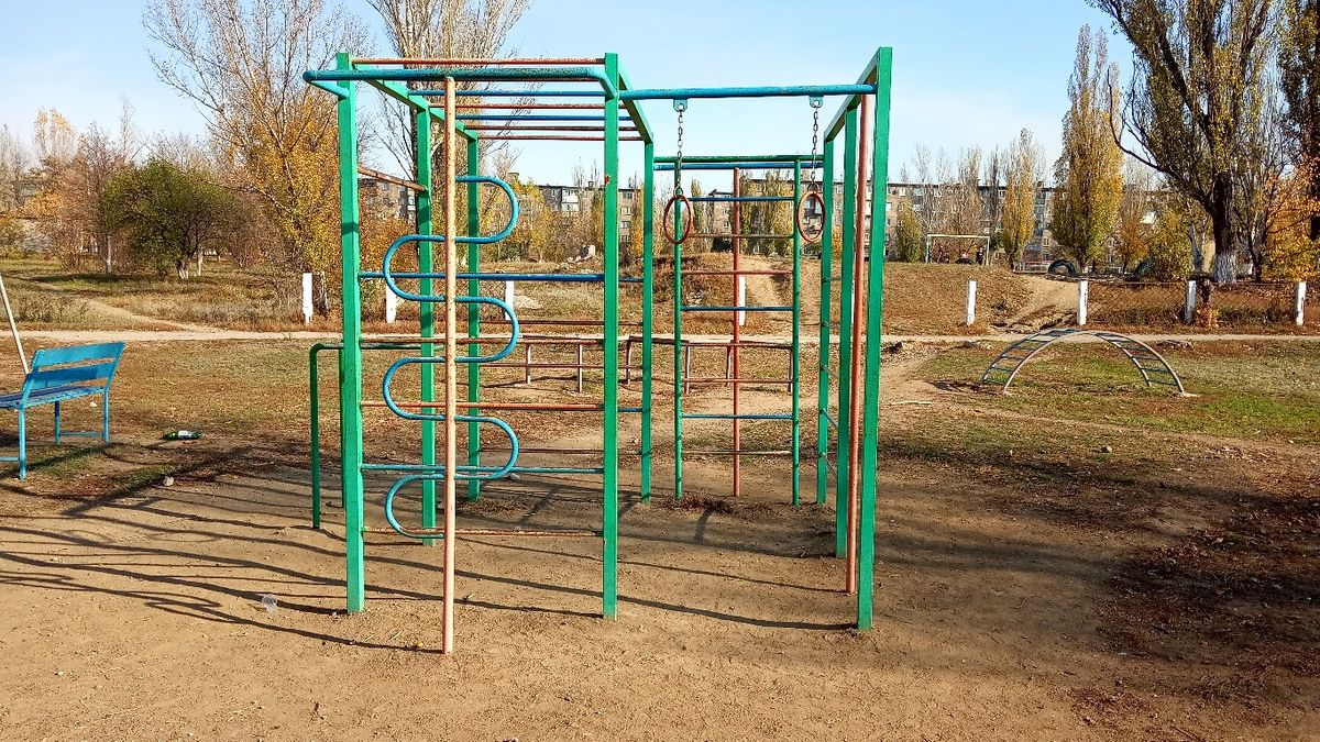 Yunokomunarivsk - Street Workout Park - Ильича 13