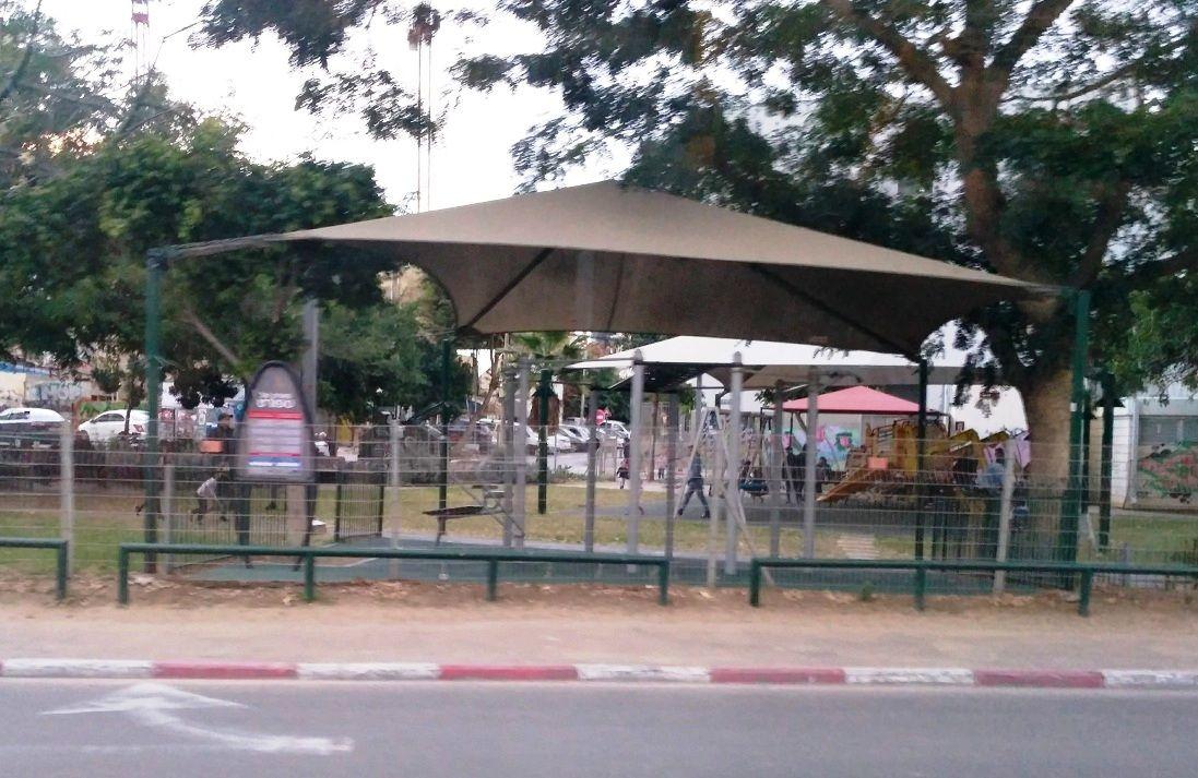 Tel Aviv - Calisthenics Park - Florentine Hostel