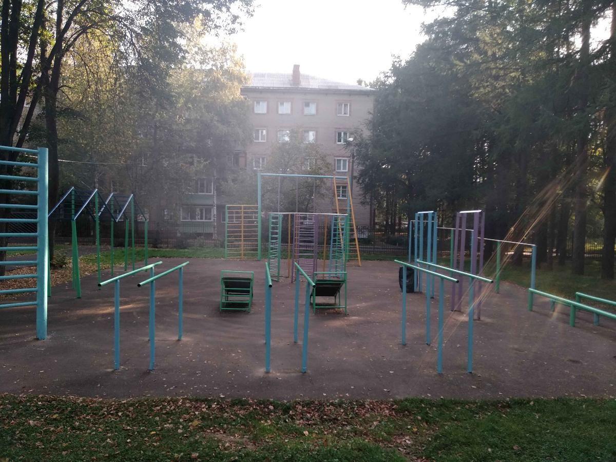 Krasnoarmeysk - Calisthenics Gym - Пр-Кт Испытателей