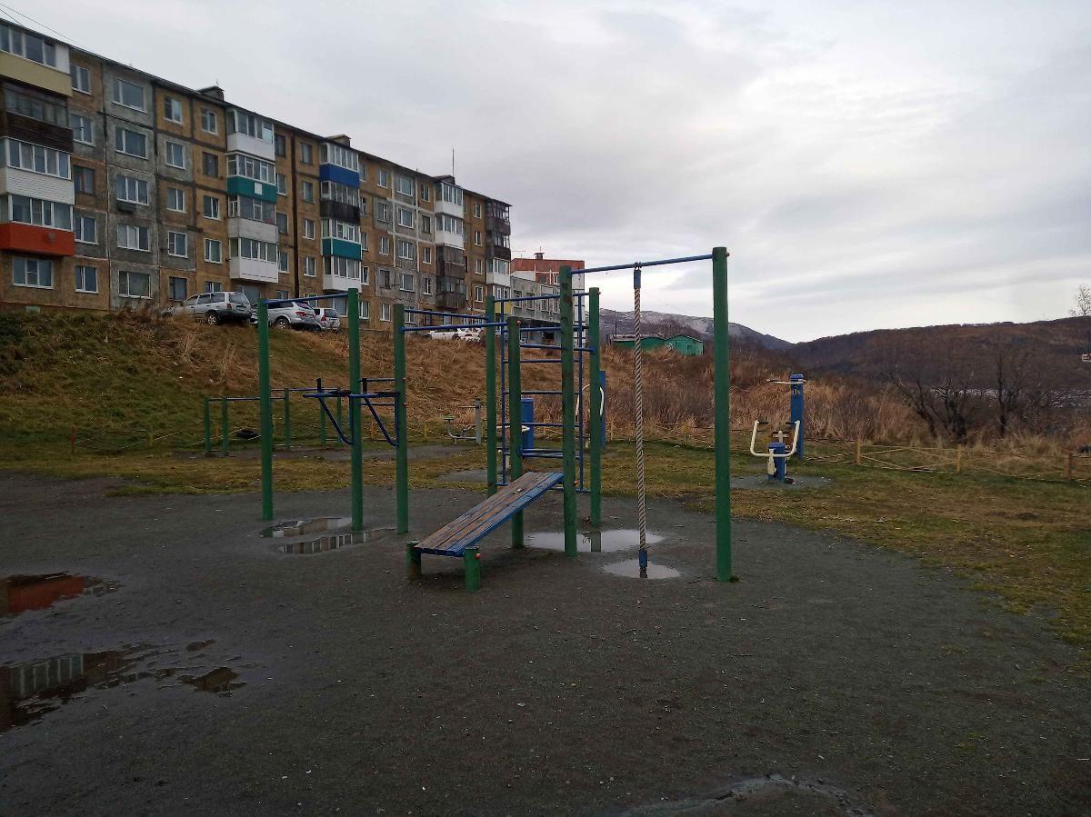 Petropavlovsk-Kamchatsky - Street Workout Park - Завойко