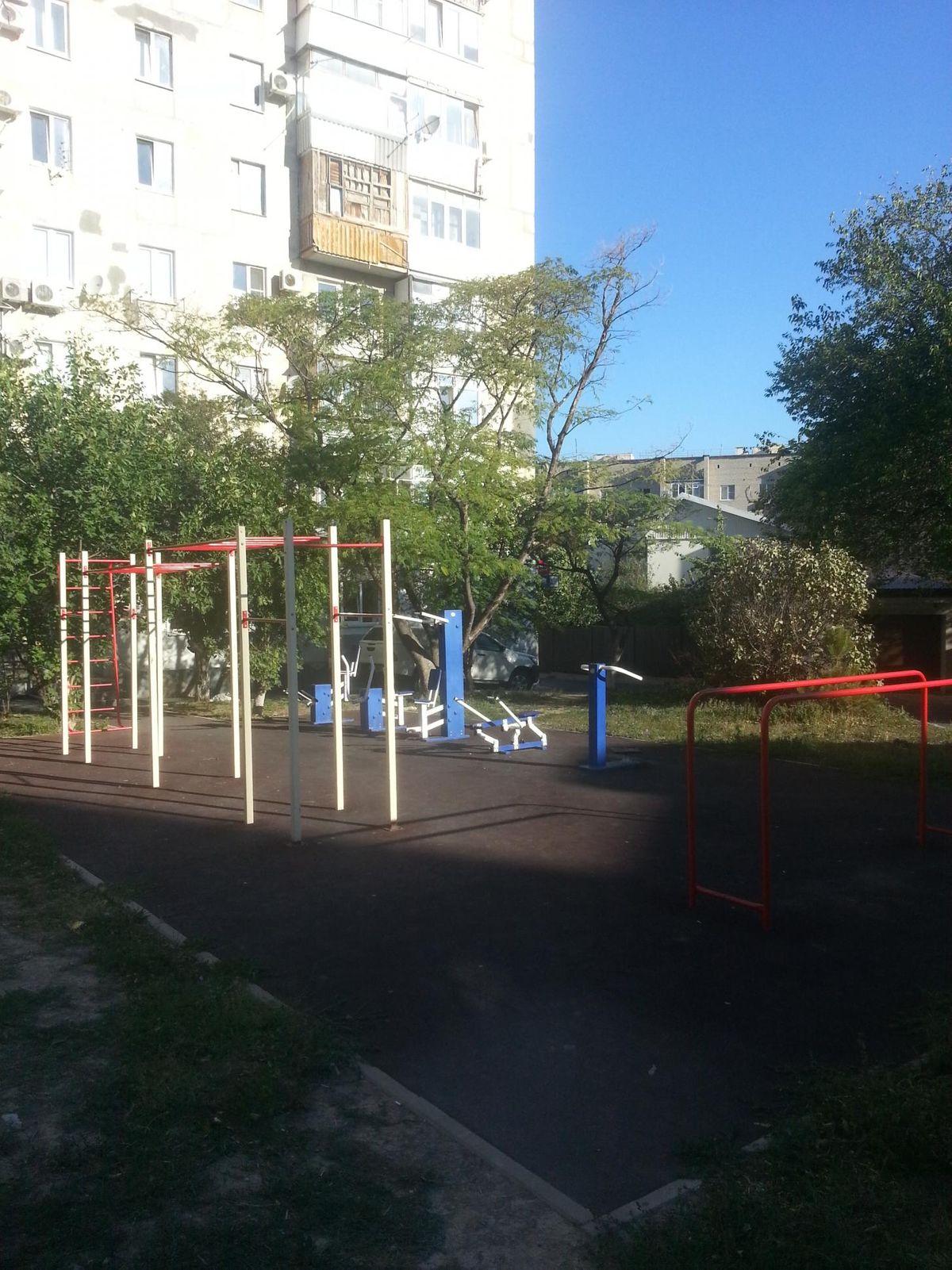 Gelendzhik - Calisthenics Park - Полевая Улица