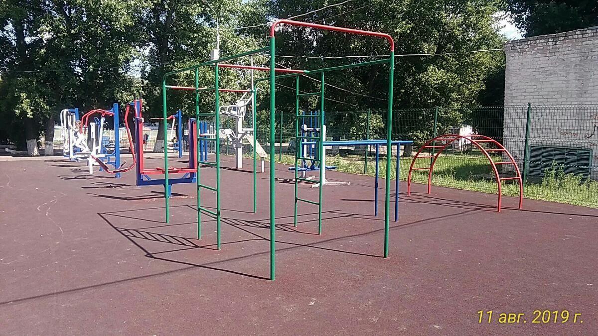Rossosh - Aire de Fitness - Парк Юбилейный