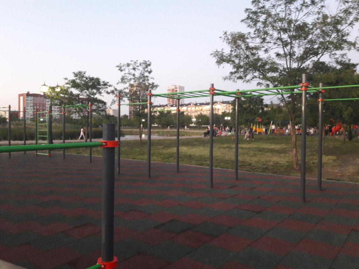 Nevinnomyssk - Street Workout Park - Ледовый Дворец Олимпийский