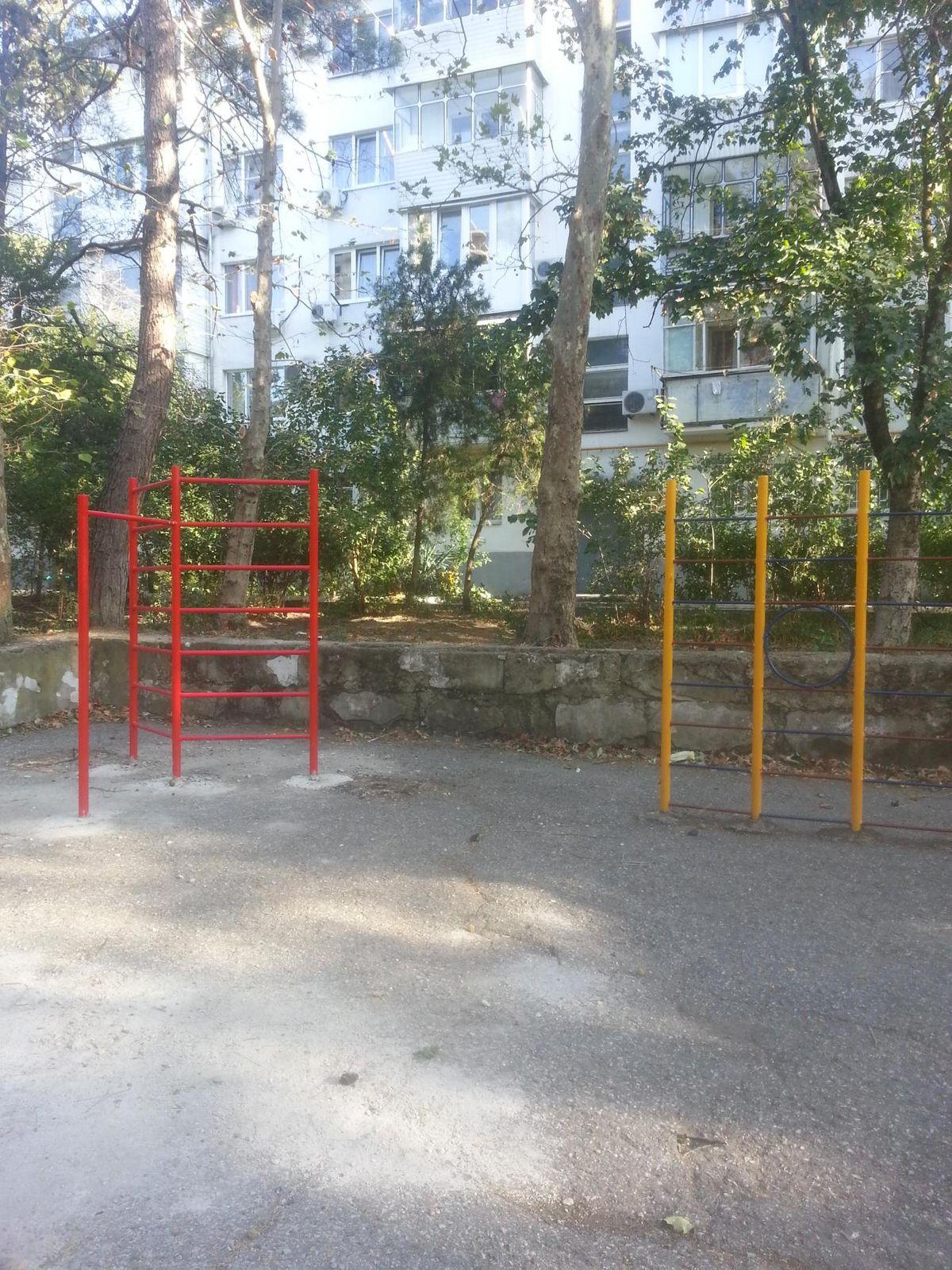Gelendzhik - Street Workout Park - Улица Гринченко