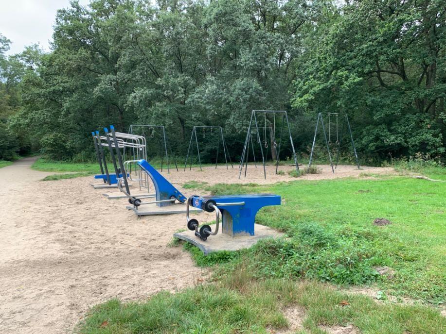 Amstelveen - Street Workout Park - Grote Vijver