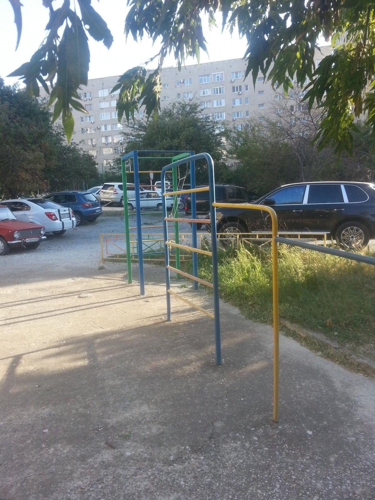 Gelendzhik - Street Workout Park - Улица Леселидзе