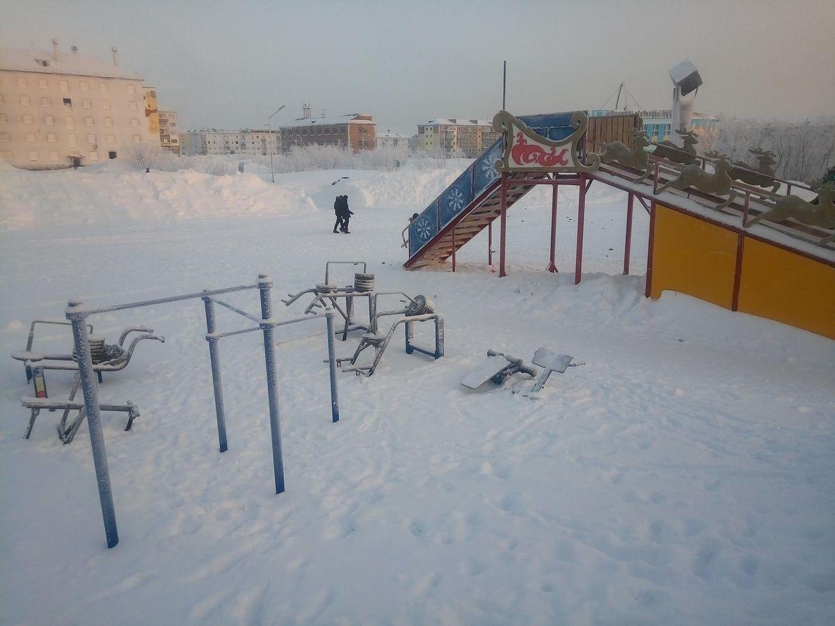 Vorkuta - Calisthenics Gym - Улица Воргашорская