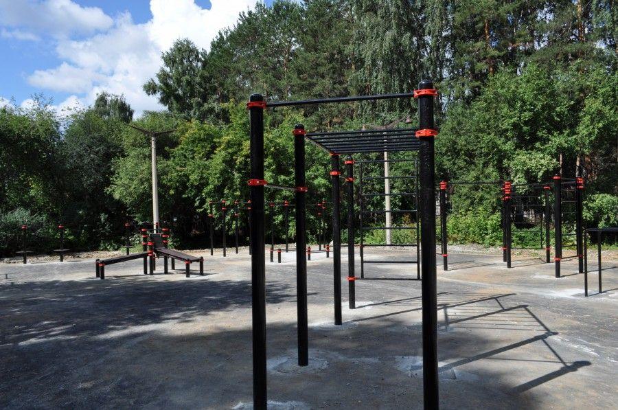 Yekaterinburg - Street Workout Park - Парк-Стадион Химмаш