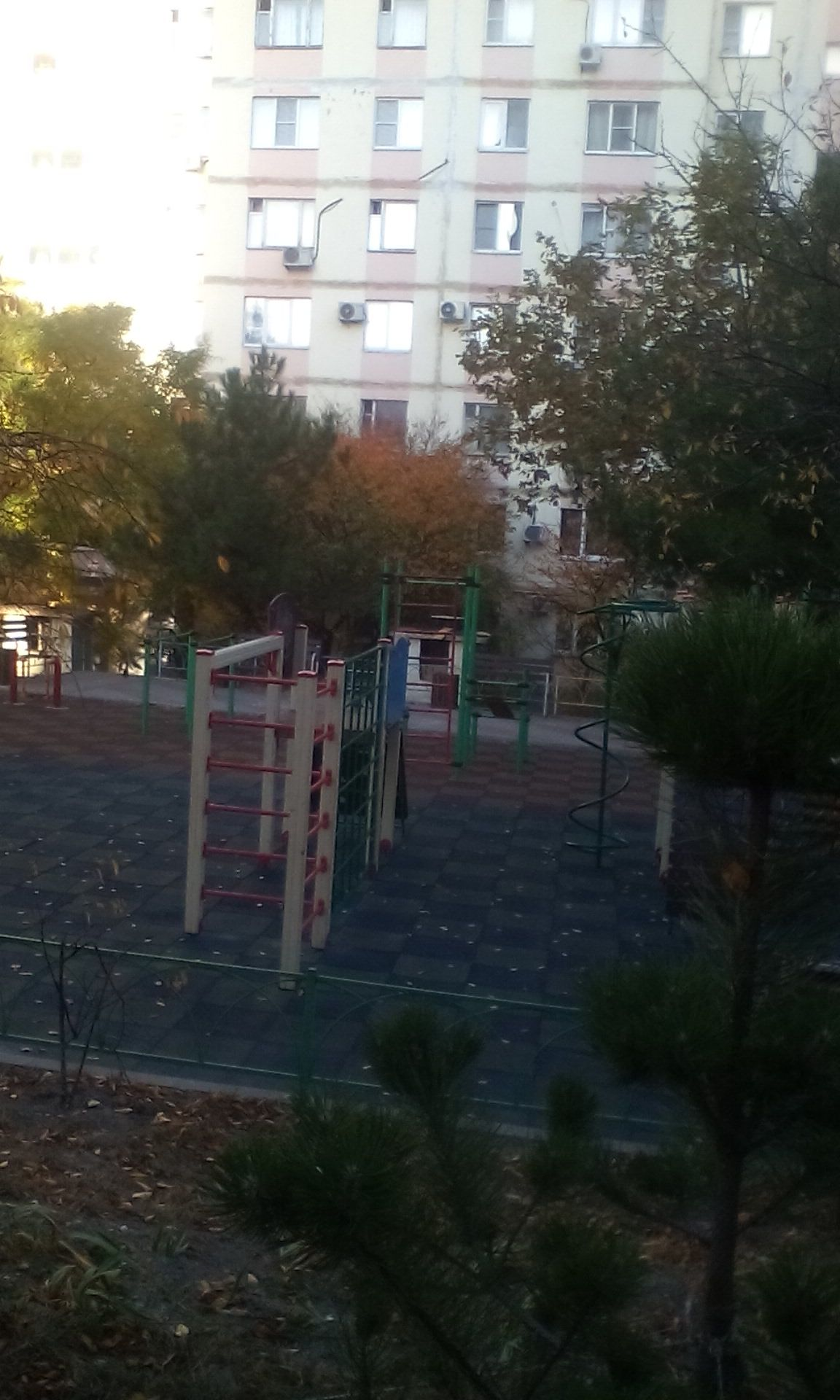 Gelendzhik - Street Workout Park - Улица Микрорайон Парус