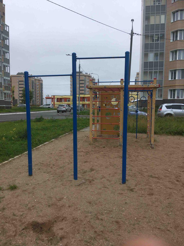 Mirny - Outdoor Gym - ТЦ Plaza