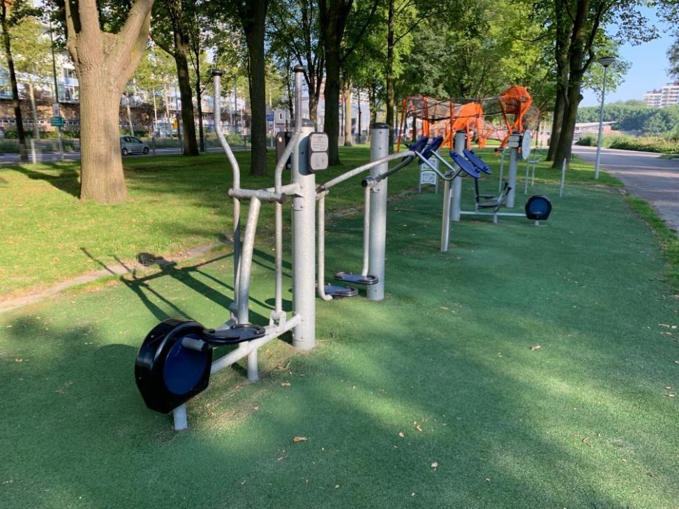 Amsterdam - Aire de Fitness - Meer en Vaart