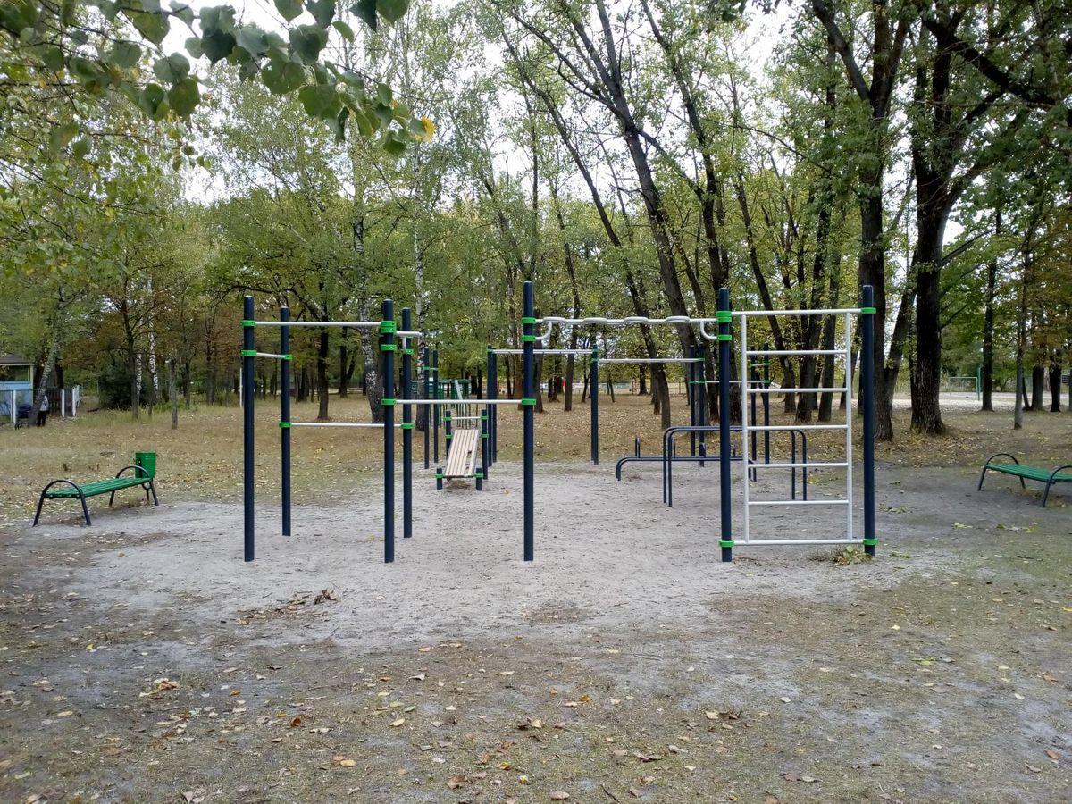 Beloberezkovskoe - Calisthenics Park - 242250