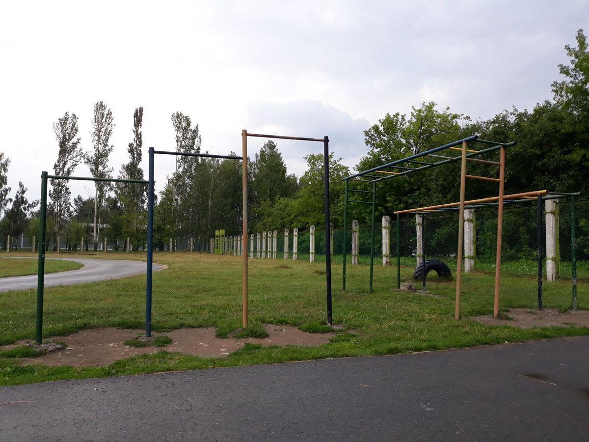 Verkhnyaya Pyshma - Street Workout Park - Sberbank of Russia
