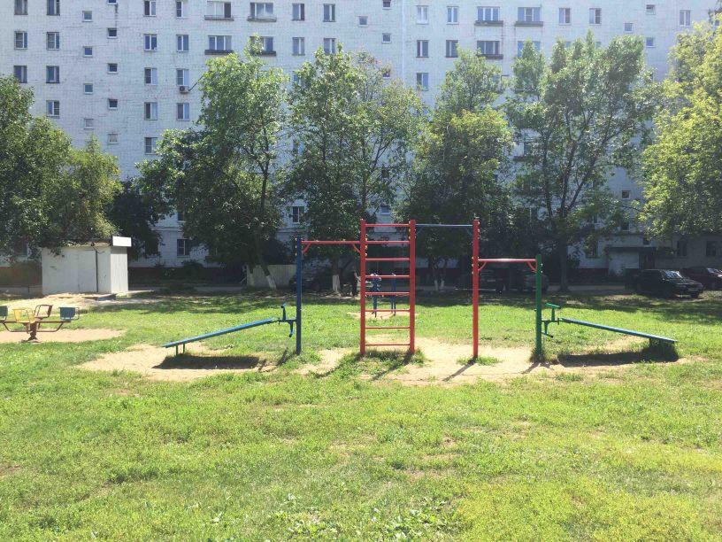 Nizhny Novgorod - Street Workout Park - АвтоКлаус Центр  Volkswagen