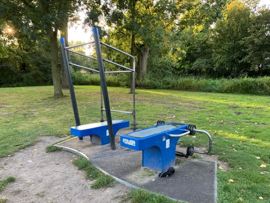 Amsterdam - Street Workout Park - Erasmuspark