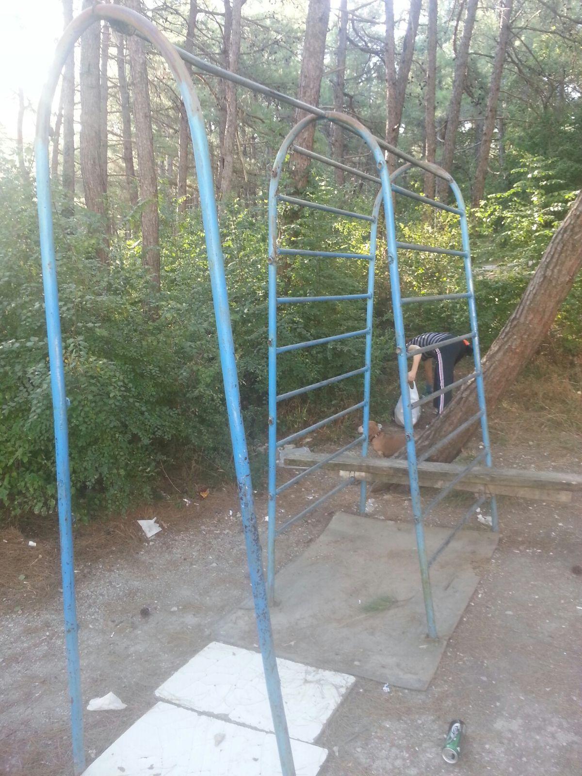 Gelendzhik - Street Workout Park - Тропа Здоровья