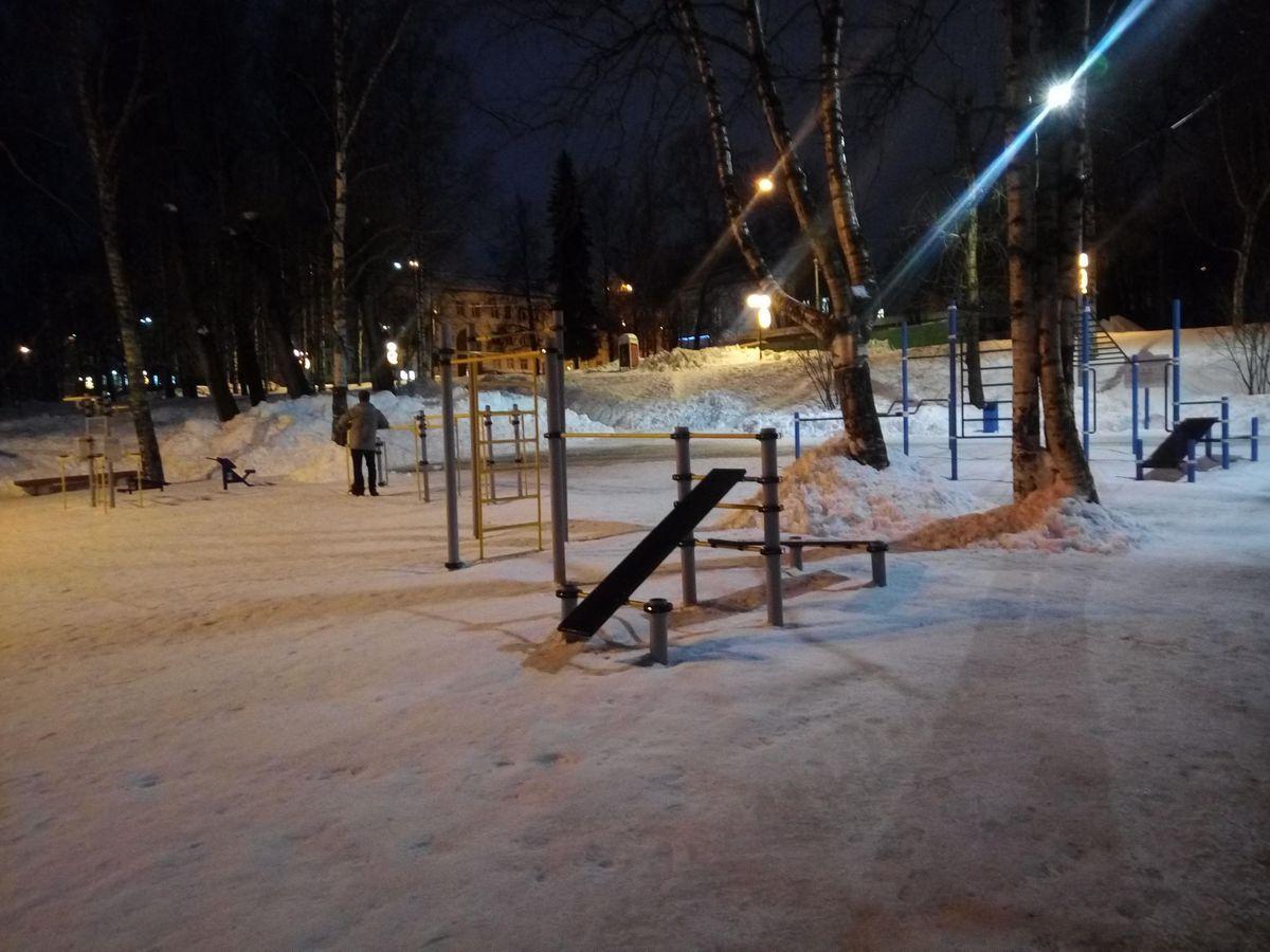 Syktyvkar - Street Workout Park - Улица Кирова