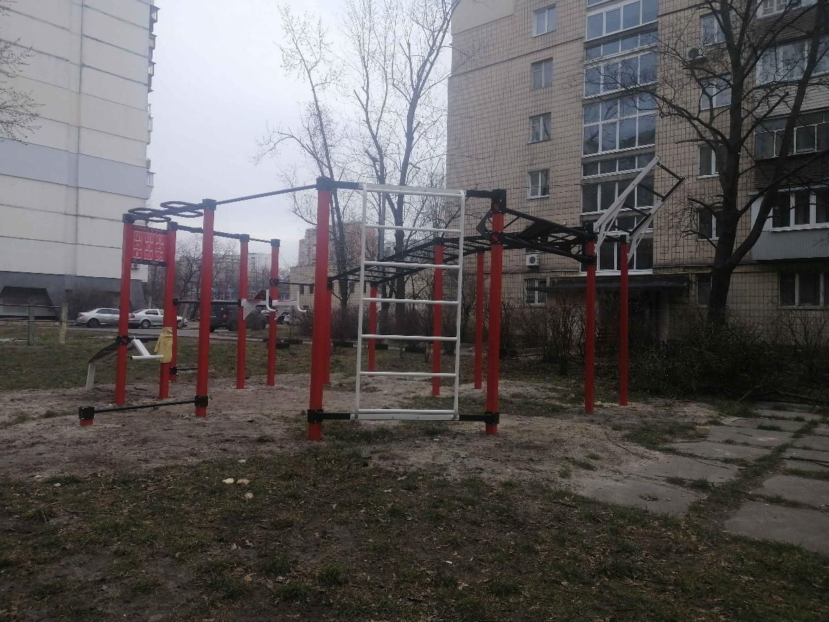 Kyiv - Street Workout Park - Школа Монтессори