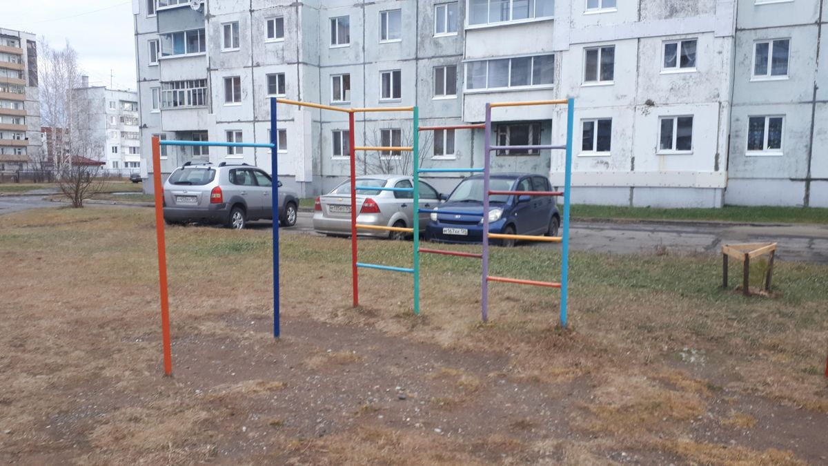 Sharypovo - Outdoor Gym - У Камина