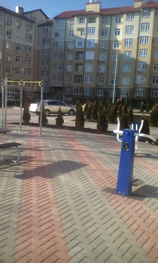 Gelendzhik - Street Workout Park - Больничный Переулок