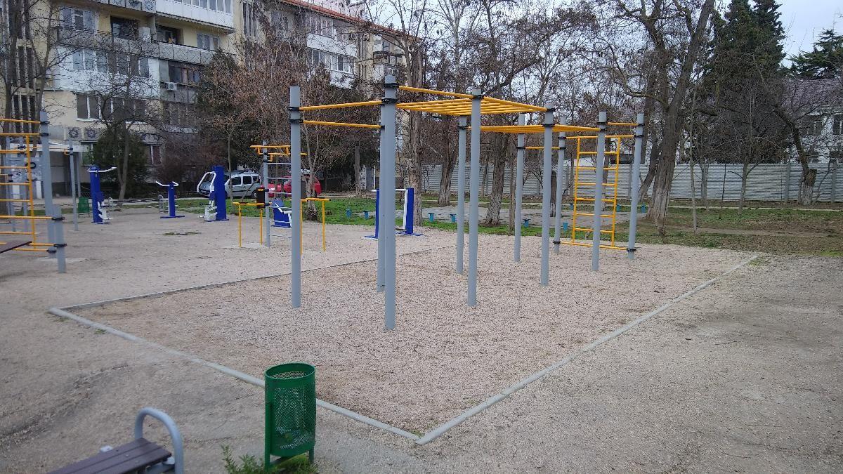 Sevastopol - Street Workout Park - Генеральное Консульство Республики Польша