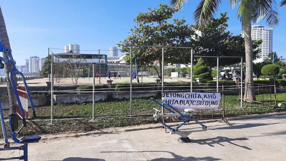Nha Trang - Calisthenics Gym - Волейбольные Площадки
