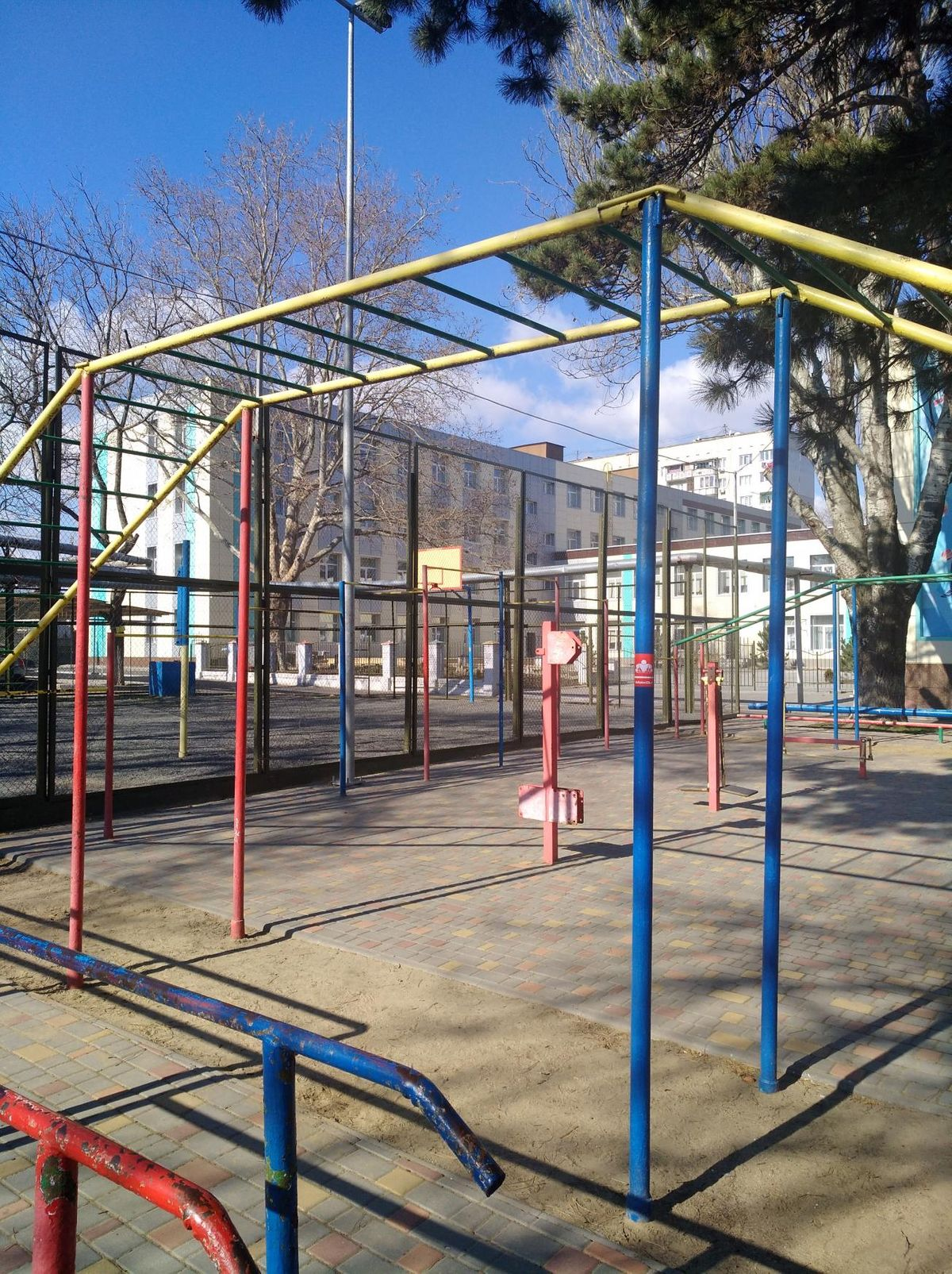 Odessa - Calisthenics Gym - Стадион СШ81