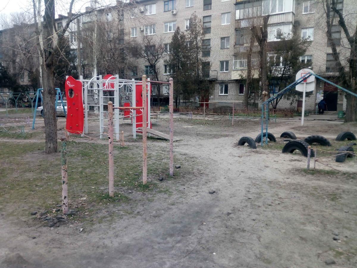 Horishni Plavni - Street Workout Park - VIS-A-VIS