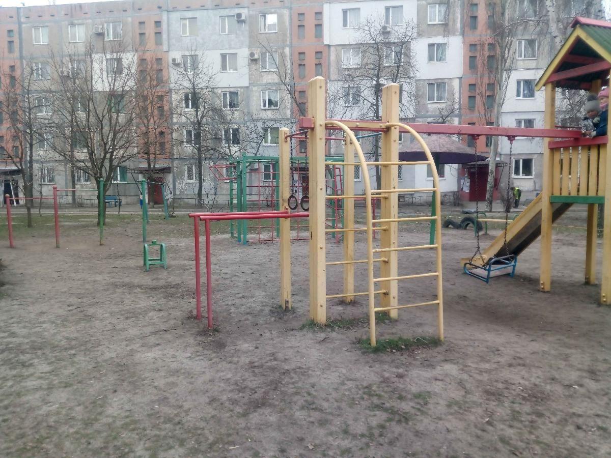 Horishni Plavni - Street Workout Park - Памятник Сантехнику