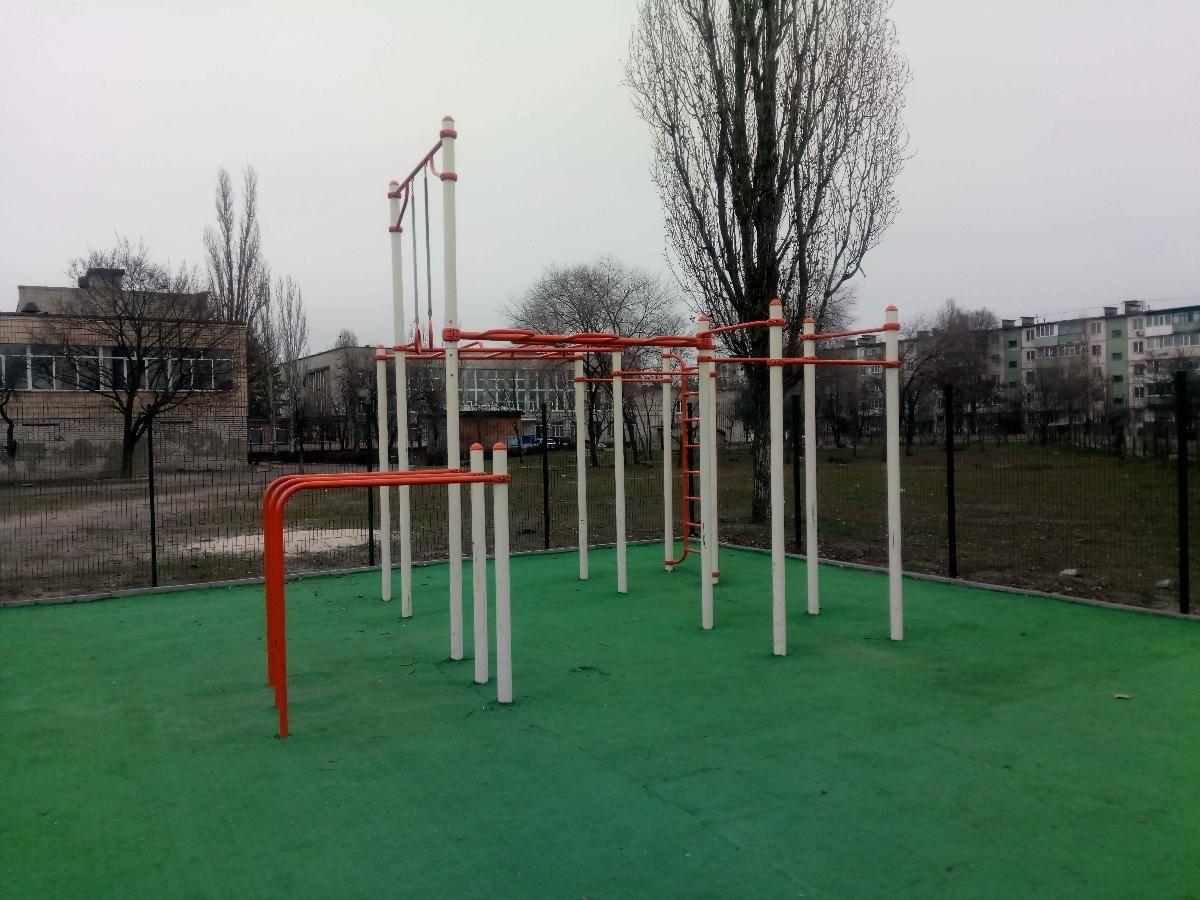 Horishni Plavni - Street Workout Park - Торговый Центр
