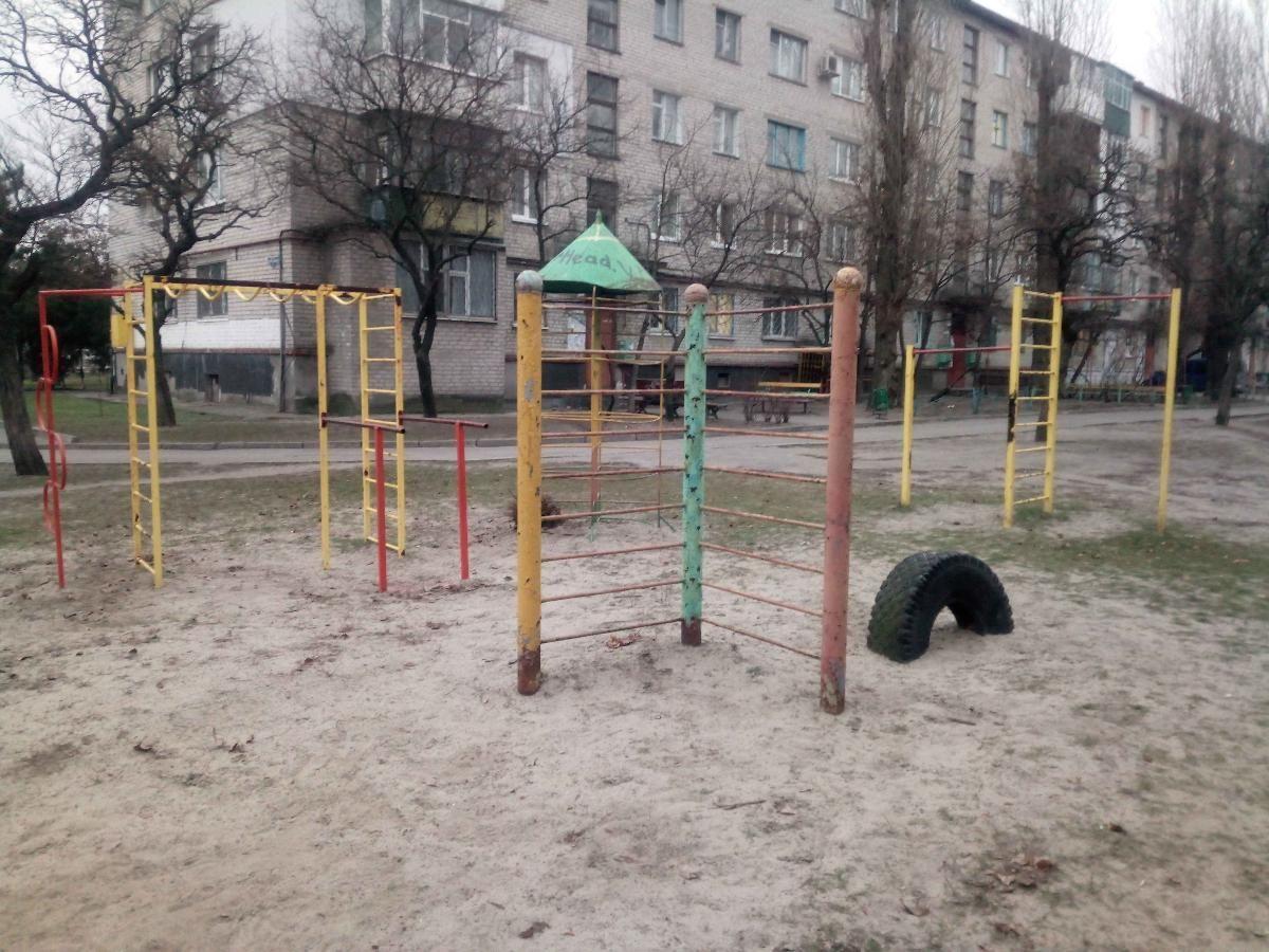 Horishni Plavni - Calisthenics Park - Мойка