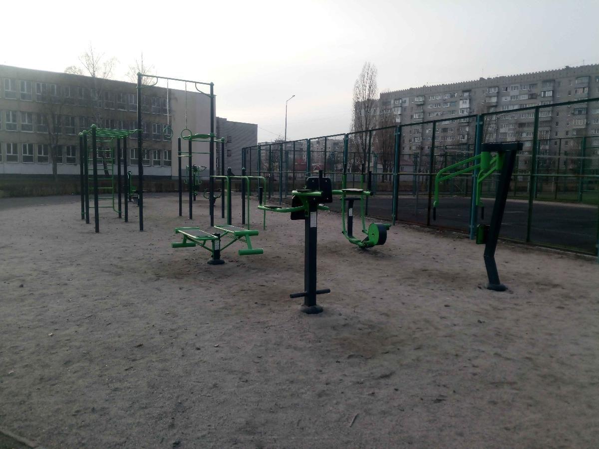 Horishni Plavni - Outdoor Gym - Аквариум