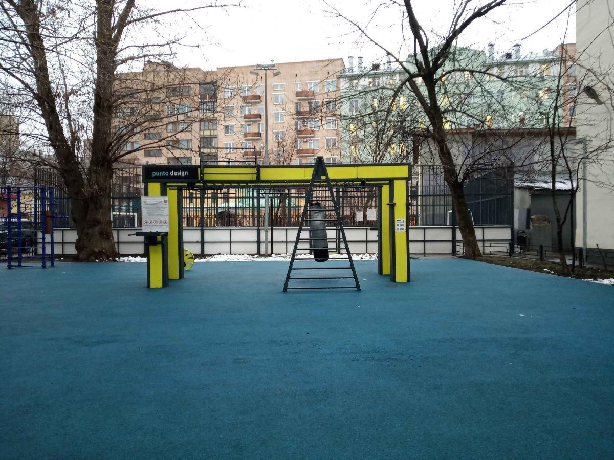Moscow - Street Workout Park - Переулок Сивцев Вражек