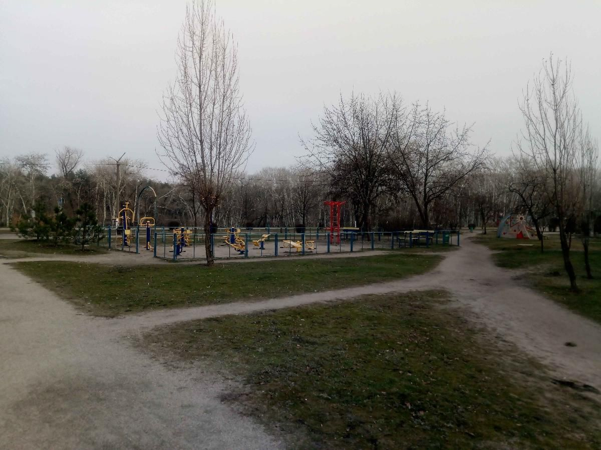 Horishni Plavni - Street Workout Park - Парковое Озеро