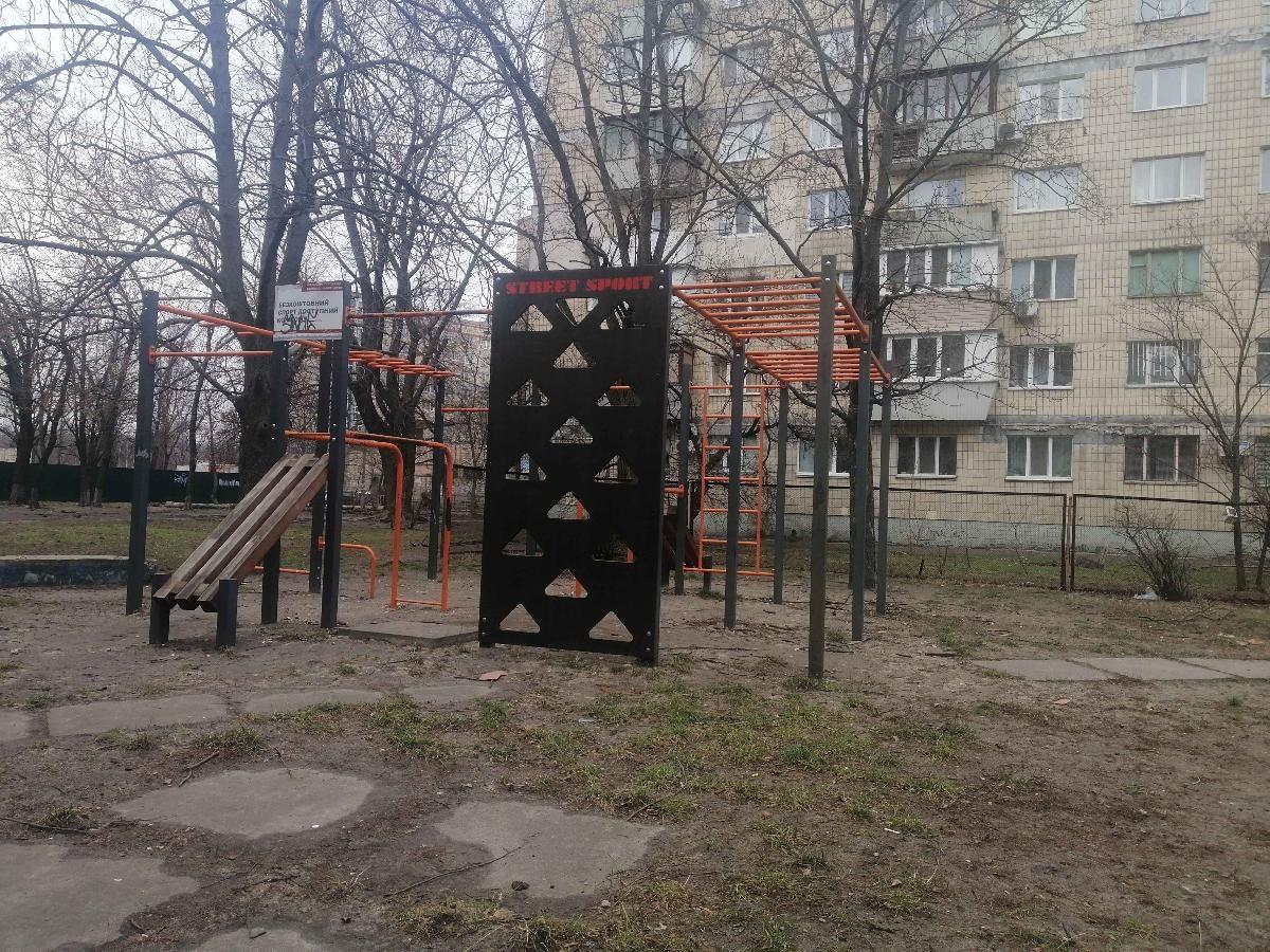 Kyiv - Fitness Park - Церковь Воскресение