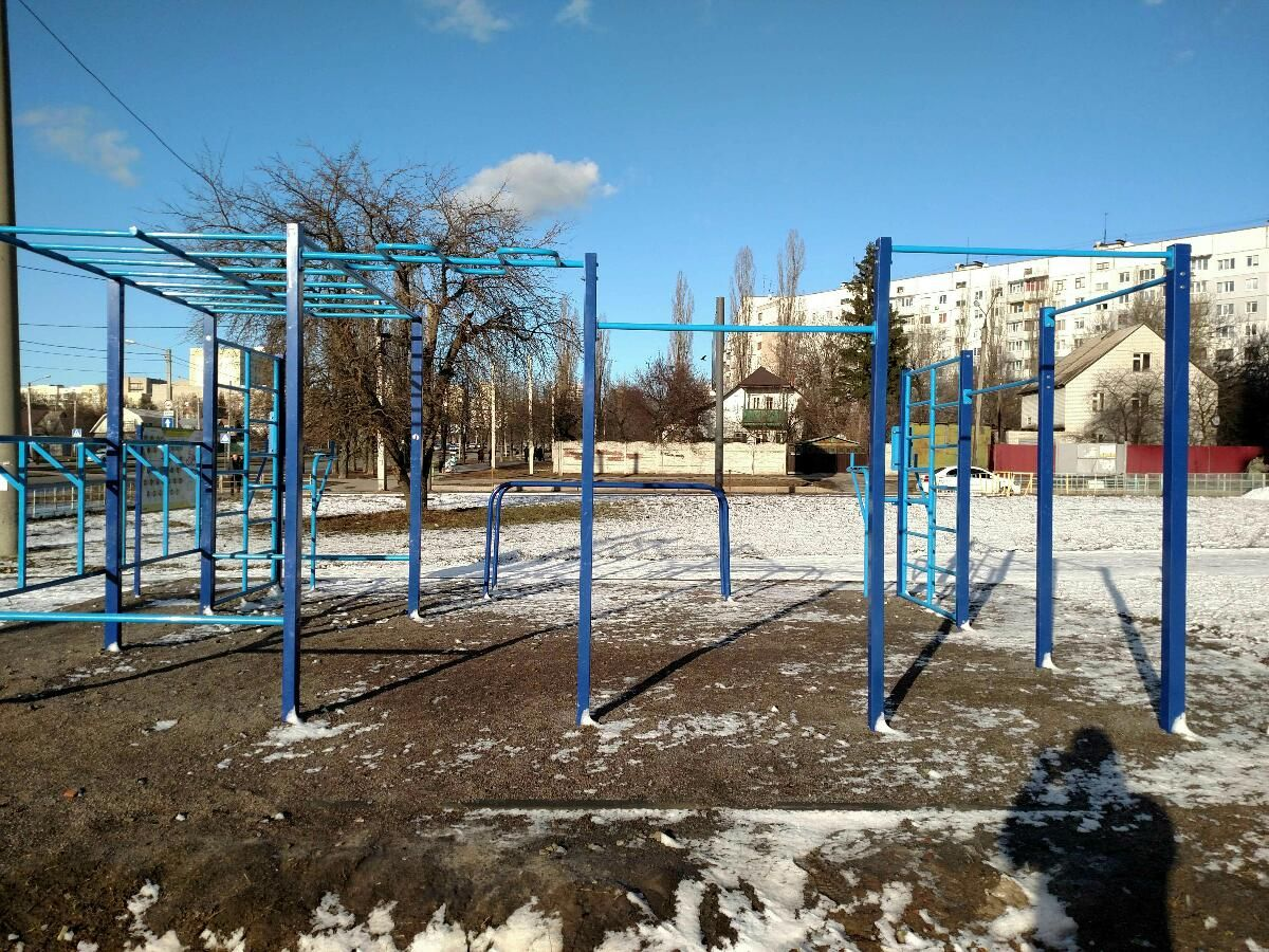 Kharkiv - Street Workout Park - Нова Пошта №7