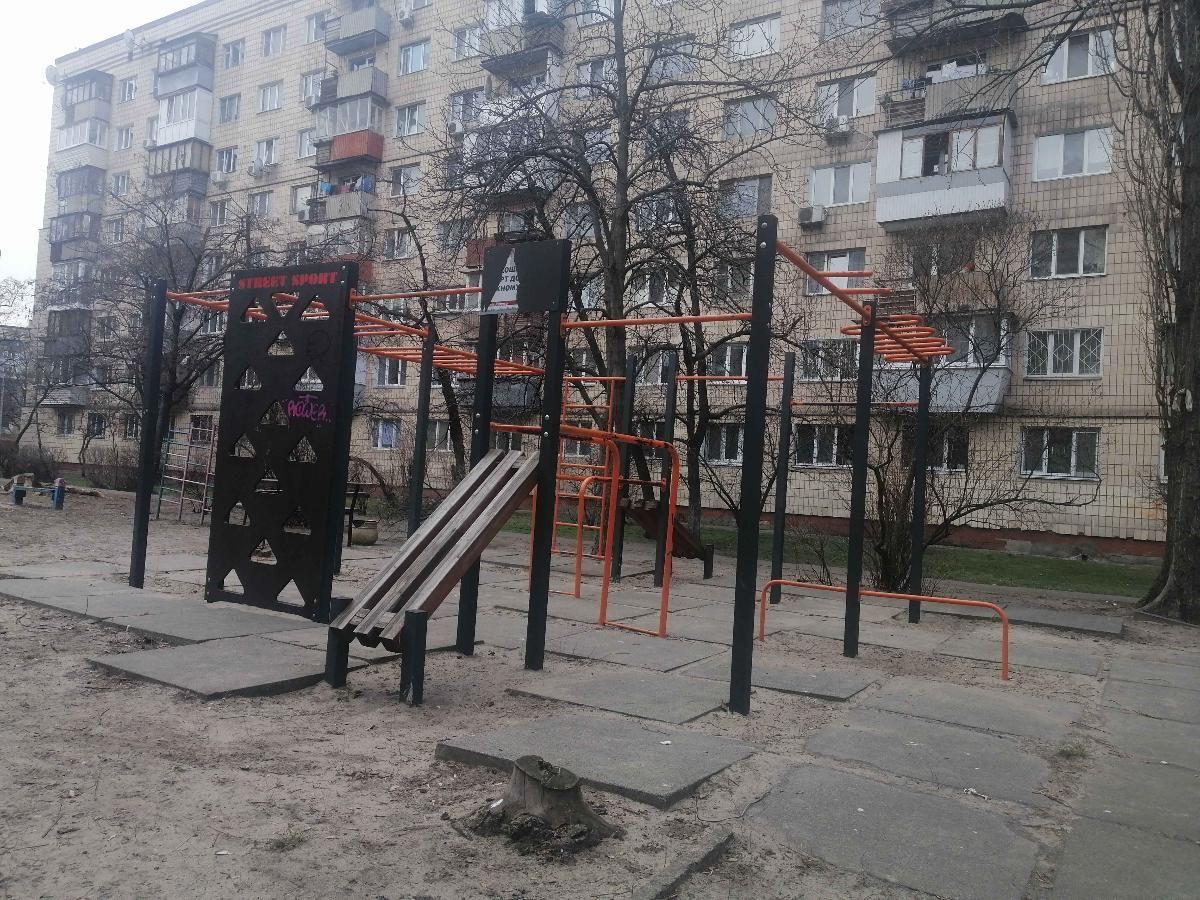 Kyiv - Outdoor Gym - Энтузиастов 5