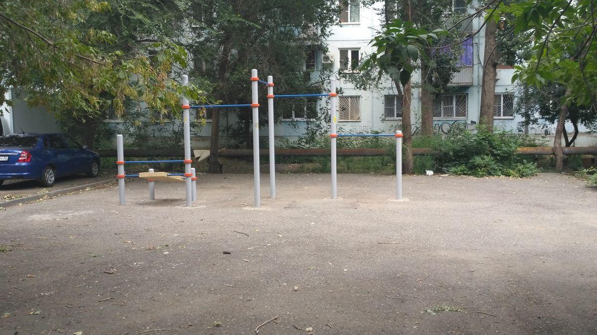 Astrakhan - Street Workout Park - Райский Рай