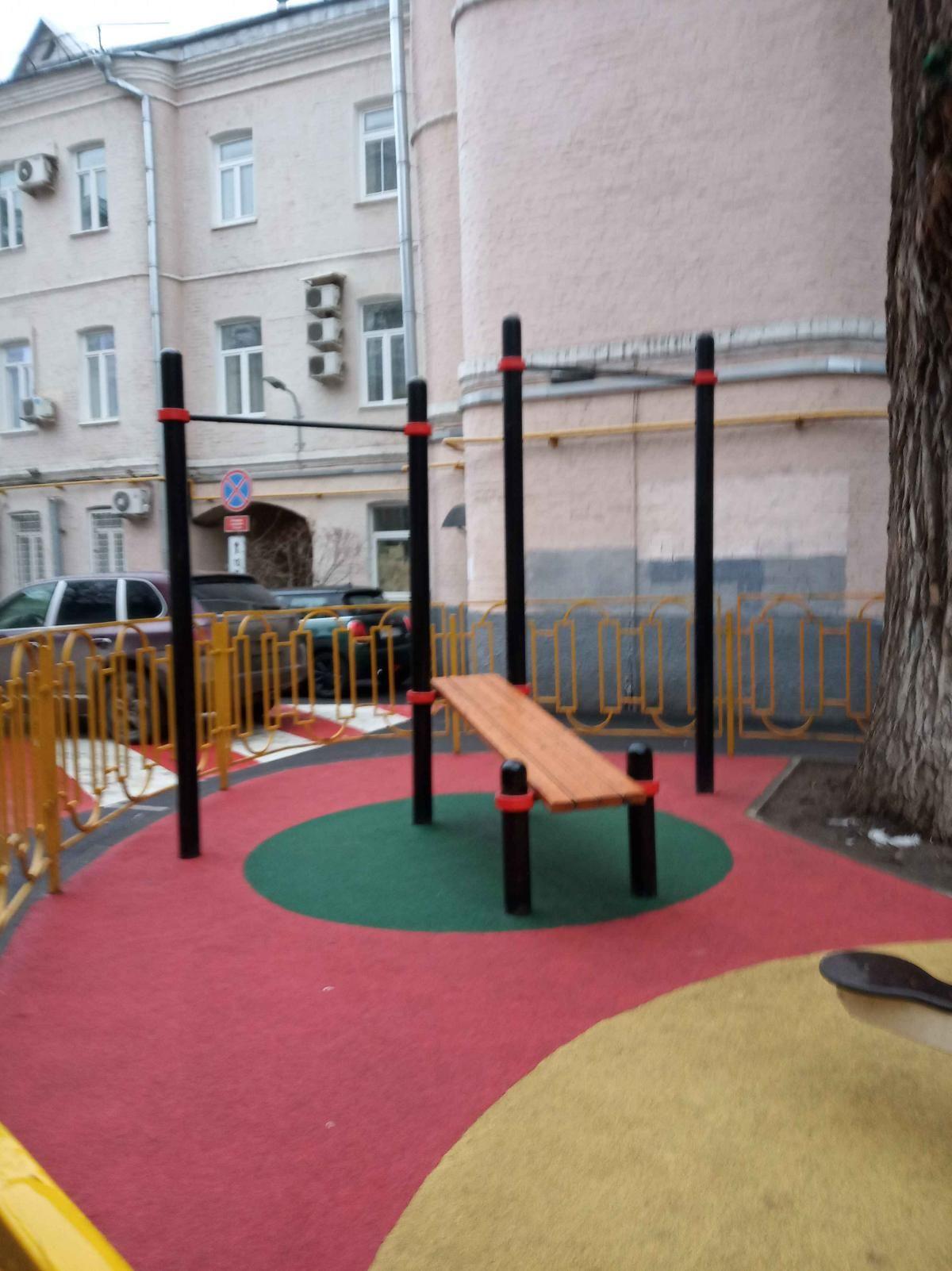 Moscow - Calisthenics Gym - Филипповский Переулок