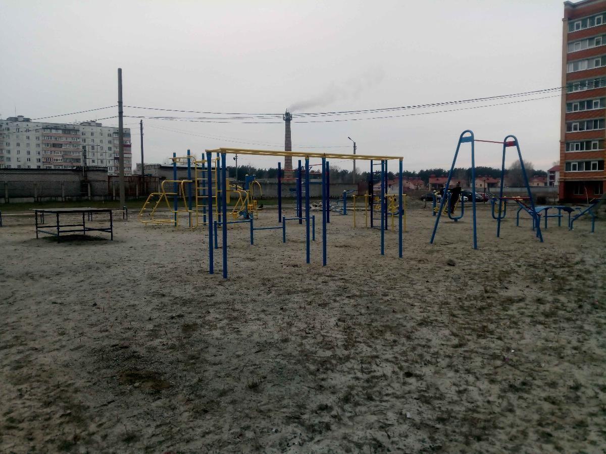 Horishni Plavni - Calisthenics Gym - Парковое Озеро