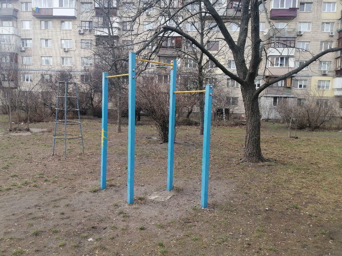 Kyiv - Street Workout Park - Энтузиастов 31/1